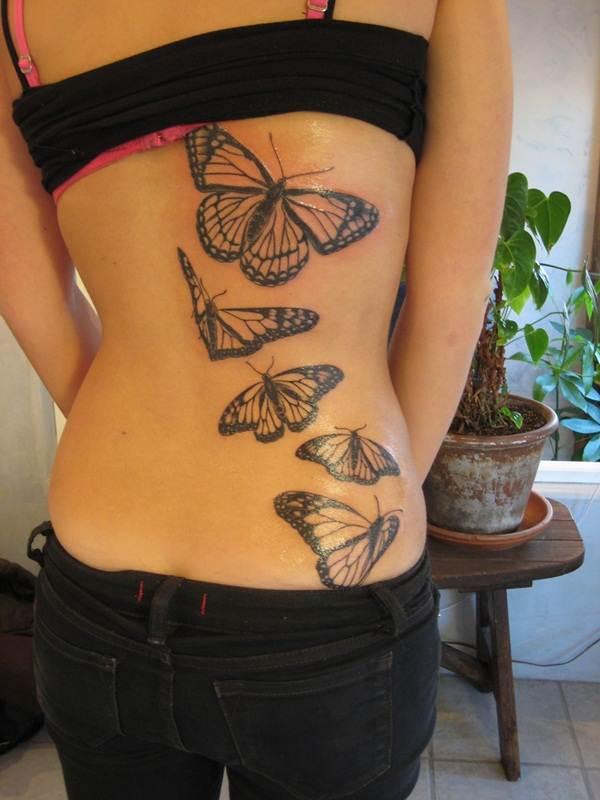 Cute Butterfly tattoo designs12