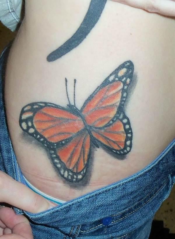 Cute Butterfly tattoo designs26