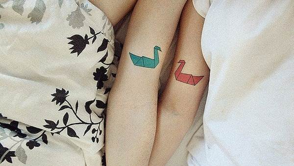 Couple Tattoo Designs 19