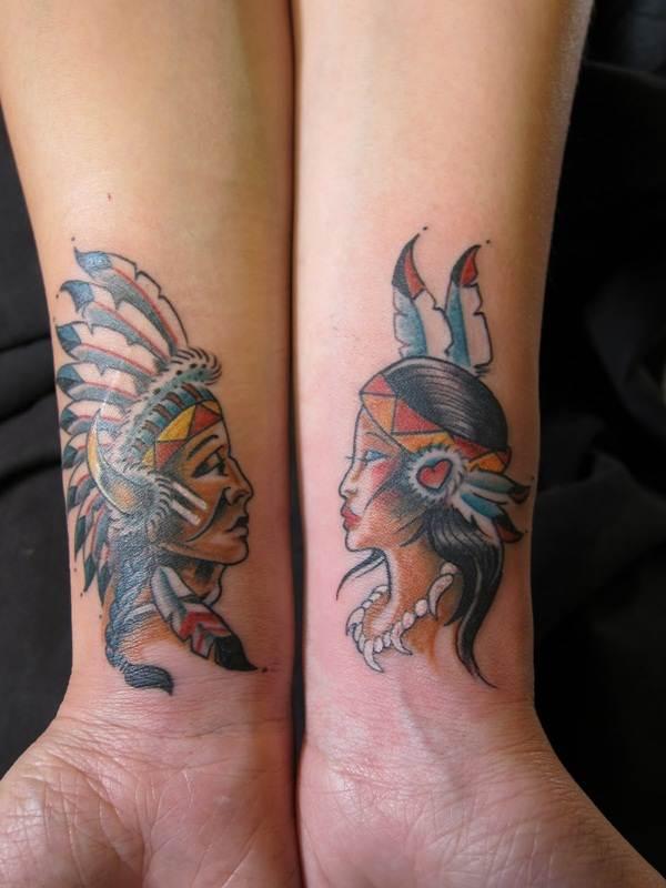 Couple Tattoo Designs 30