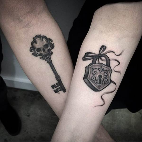 Couple Tattoo Designs 36