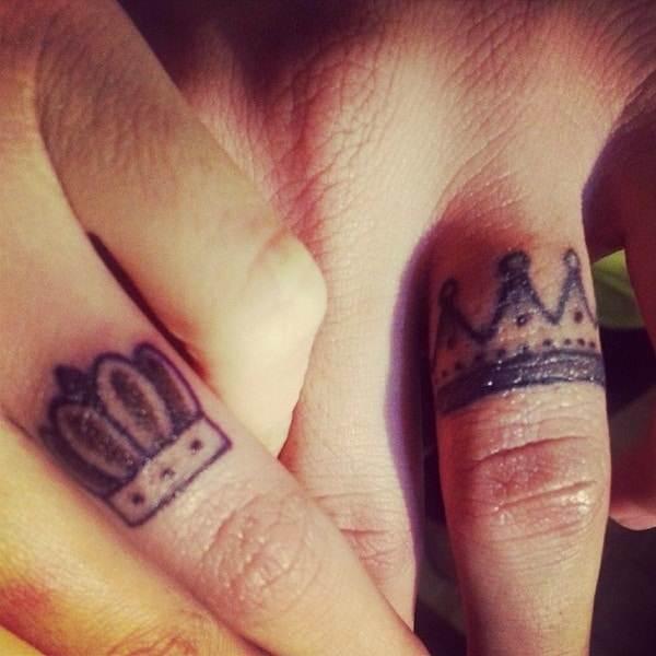 Couple Tattoo Designs 39