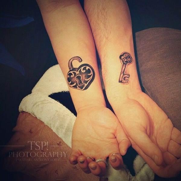 Couple Tattoo Designs 4