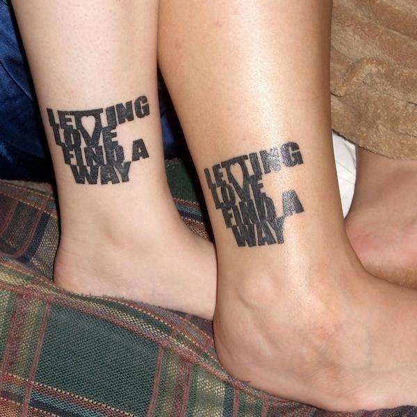Couple Tattoo Designs 47