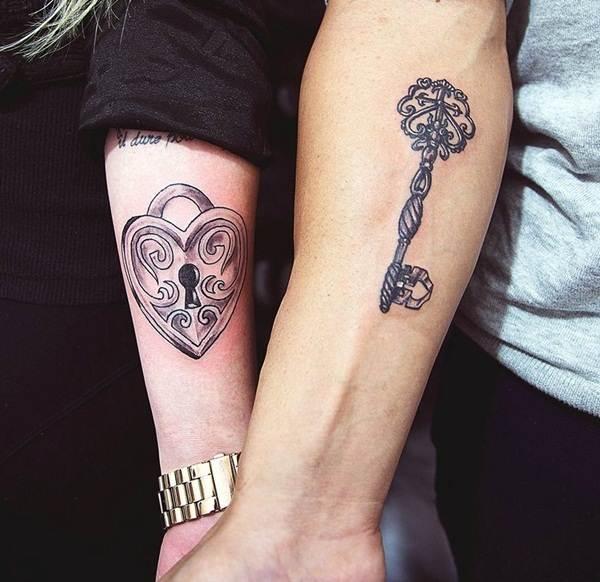 Couple Tattoo Designs 9