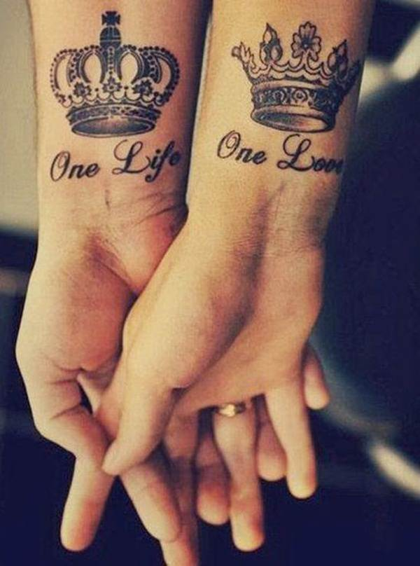 Couple Tattoo Designs 62