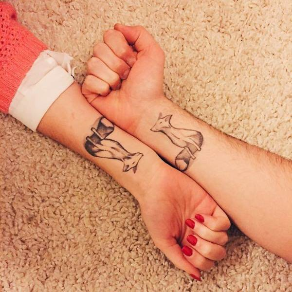 Couple Tattoo Designs 53