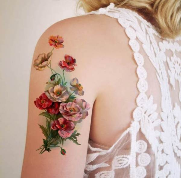 Floral Tattoos Designs that'll blow your Mind0241