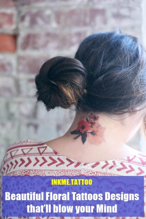 Floral Tattoos Designs that'll blow your Mind0001