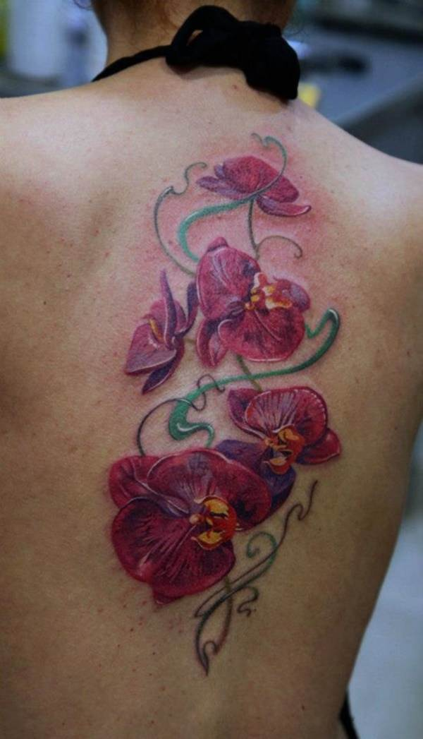 Beautiful Floral Tattoos Designs that'll blow your Mind0171