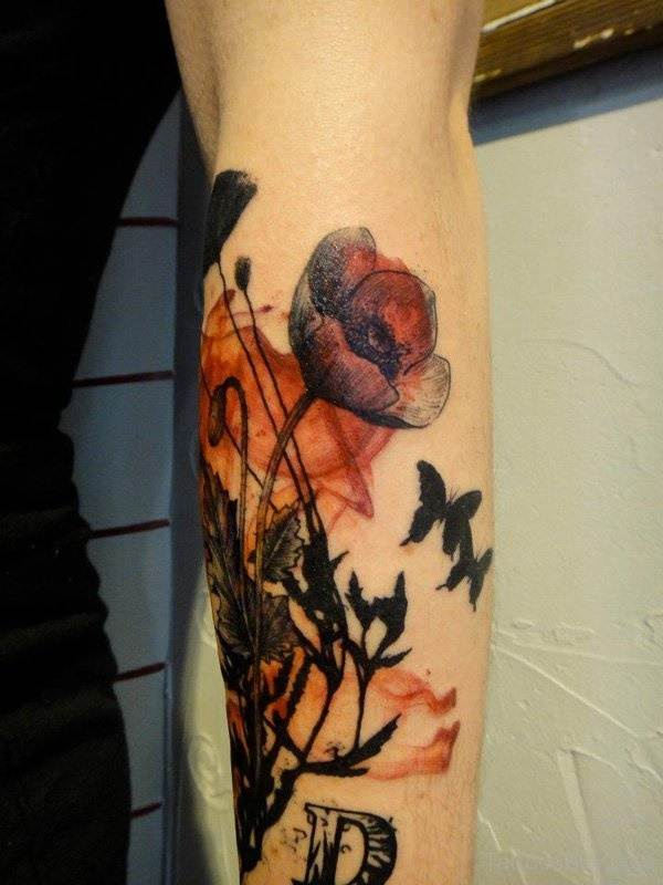 Beautiful Floral Tattoos Designs that'll blow your Mind0431
