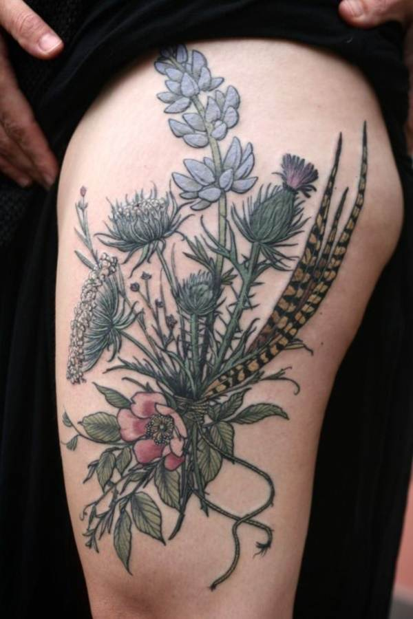 Floral Tattoos Designs that'll blow your Mind0201