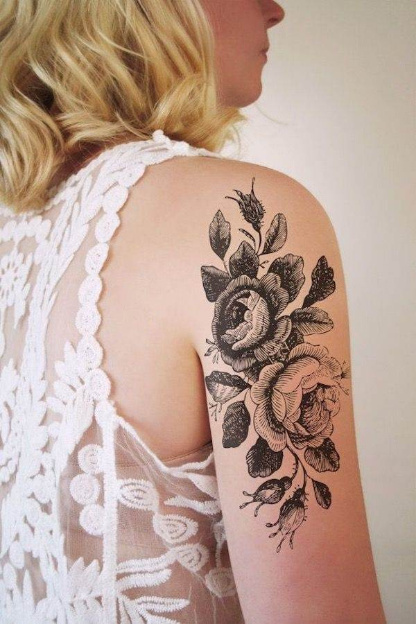 Floral Tattoos Designs that'll blow your Mind0361