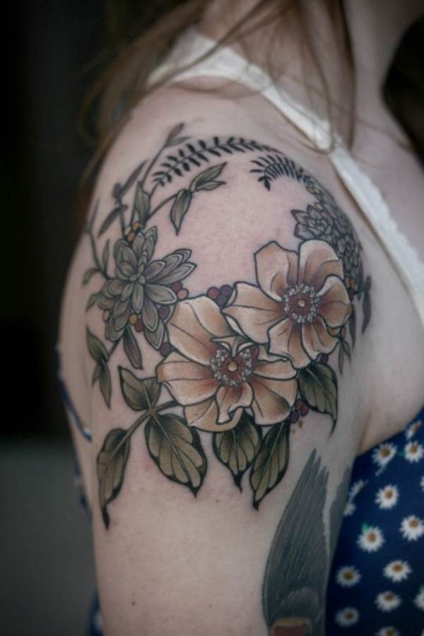 Floral Tattoos Designs that'll blow your Mind0021