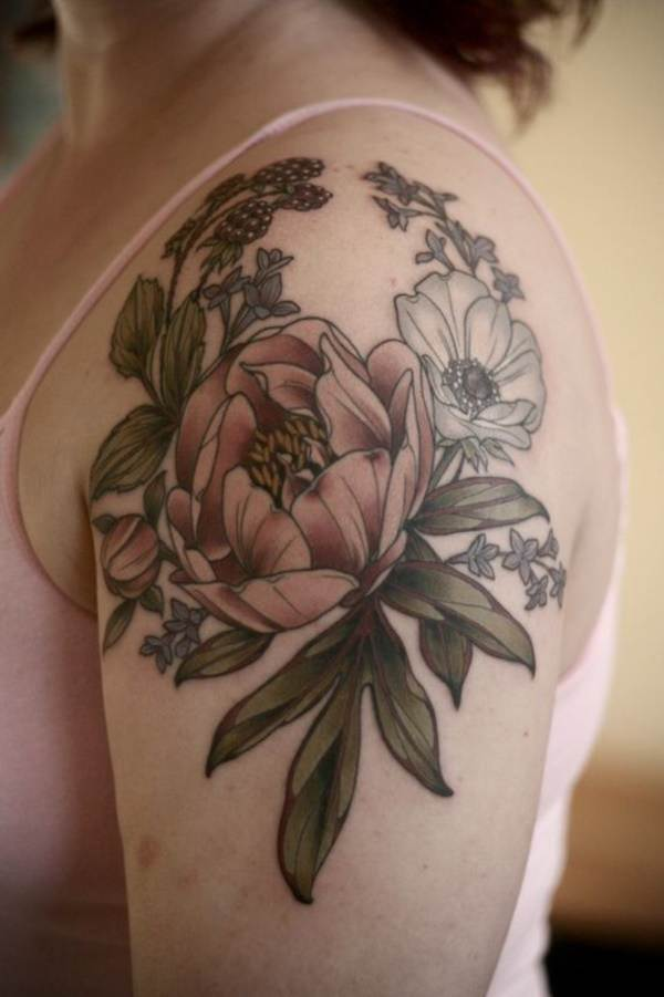 Floral Tattoos Designs that'll blow your Mind0261