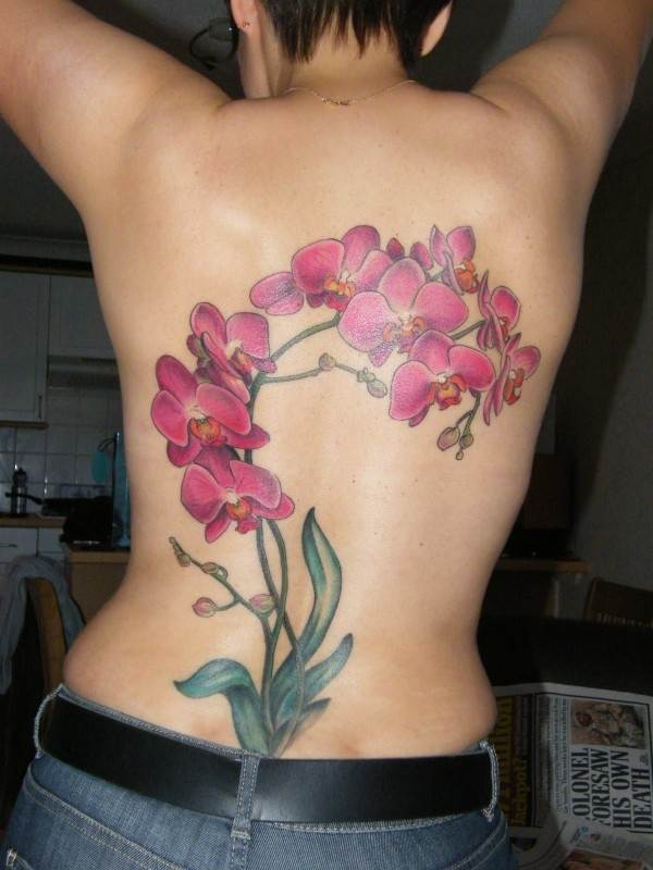 Beautiful Floral Tattoos Designs that'll blow your Mind0191