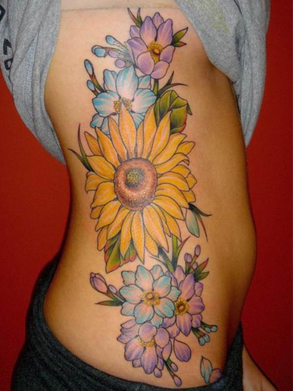 Beautiful Floral Tattoos Designs that'll blow your Mind0081