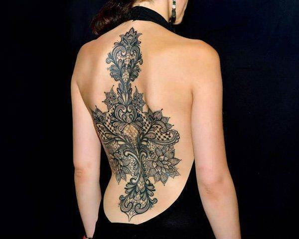 Lace Tattoo designs12