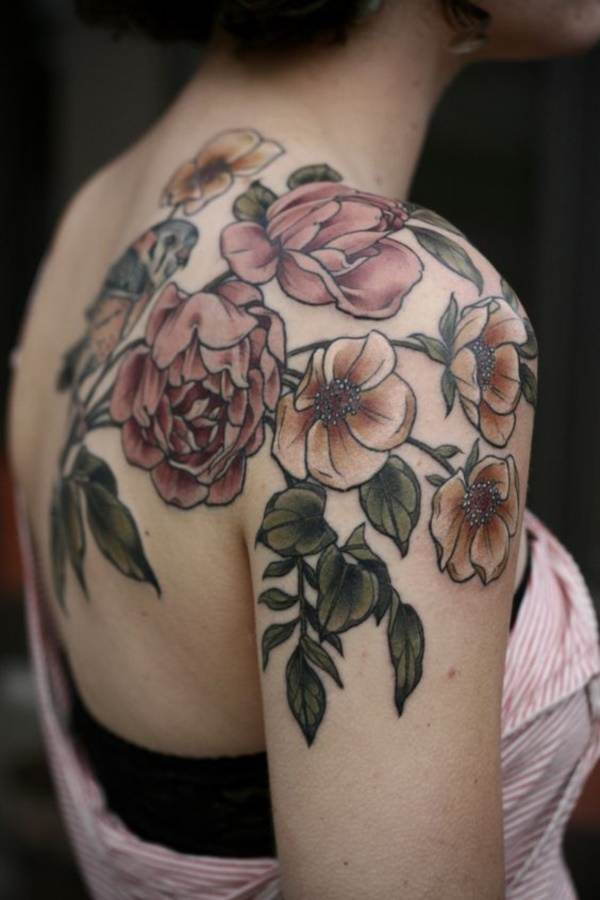 Floral Tattoos Designs that'll blow your Mind0351