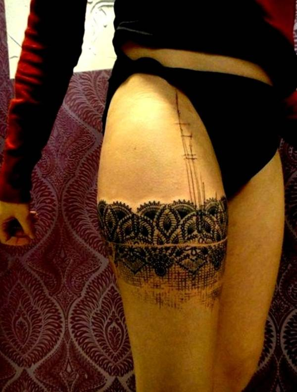 Lace Tattoo designs27