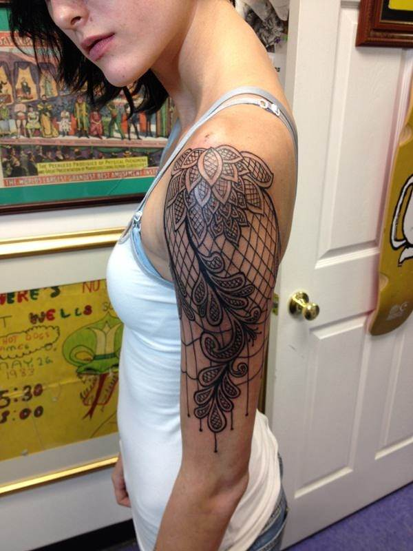 Lace Tattoo designs17