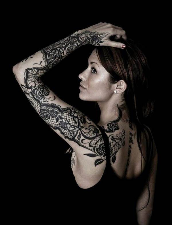 Lace Tattoo designs24