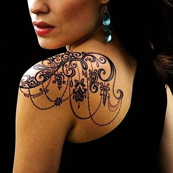 Lace Tattoos Designs and Ideas (96)