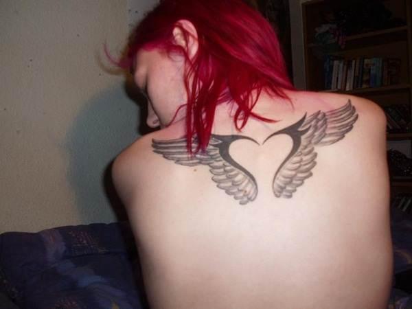 Angel tattoo designs and ideas51