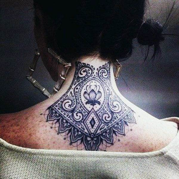Lace Tattoos Designs and Ideas (66)