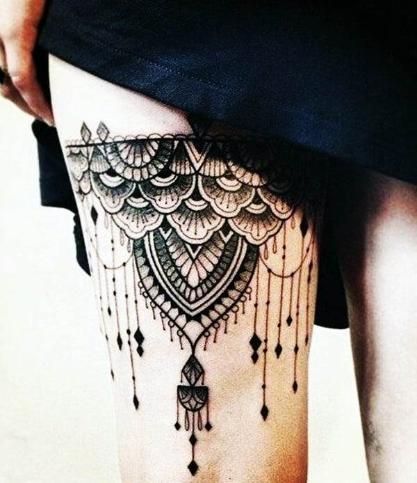 Lace Tattoos Designs and Ideas (3)