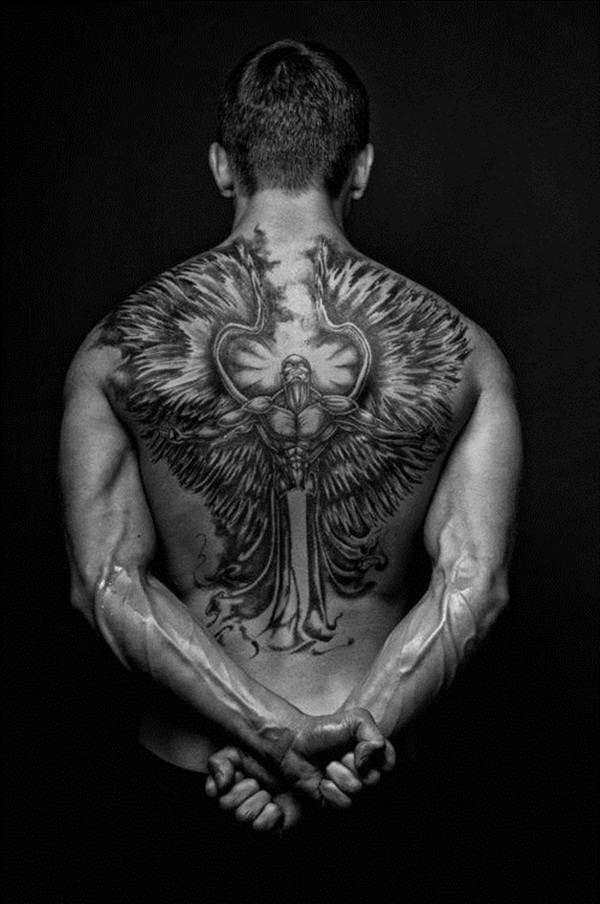 Angel tattoo designs and ideas19
