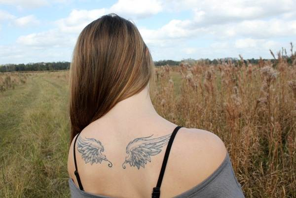 Angel tattoo designs and ideas21