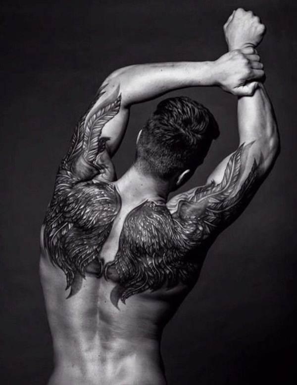 Angel tattoo designs and ideas22