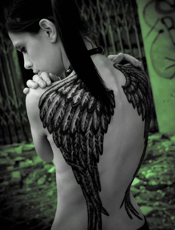 Angel tattoo designs and ideas34
