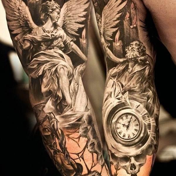 Angel tattoo designs and ideas12