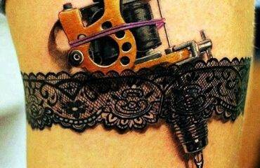 Tasteful Lace Tattoos Designs and Ideas