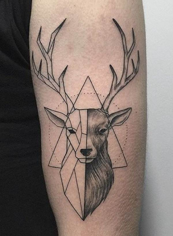 Geometric tattoo designs and ideas3