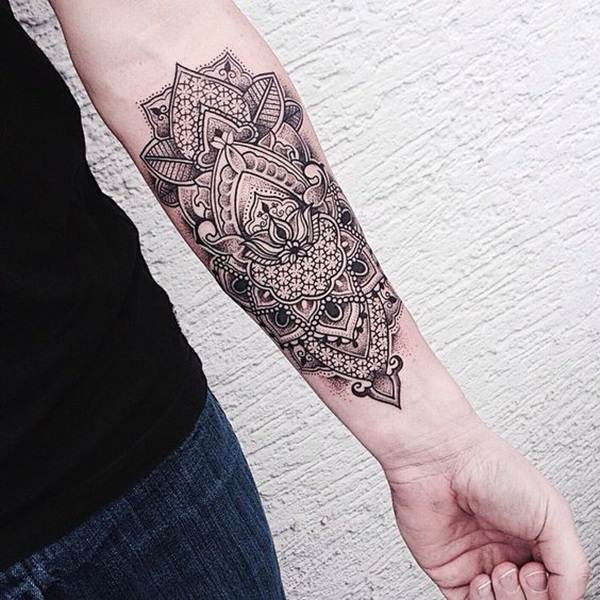 Geometric tattoo designs and ideas2