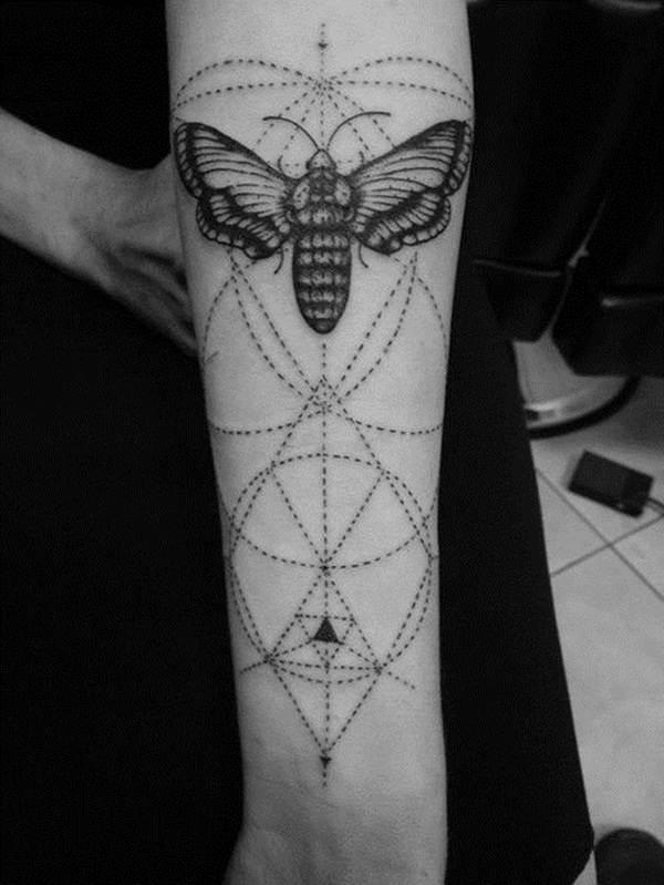 Geometric tattoo designs and ideas23