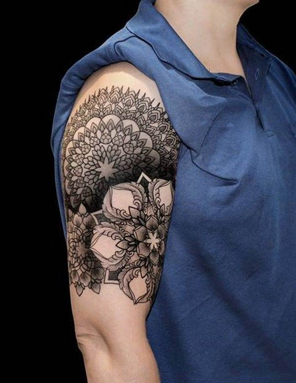 Geometric tattoo designs and ideas41