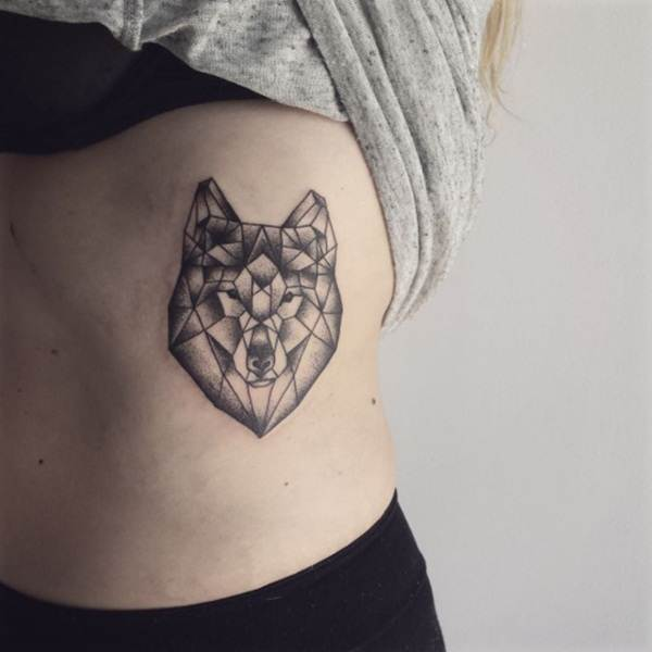 Geometric tattoo designs and ideas44
