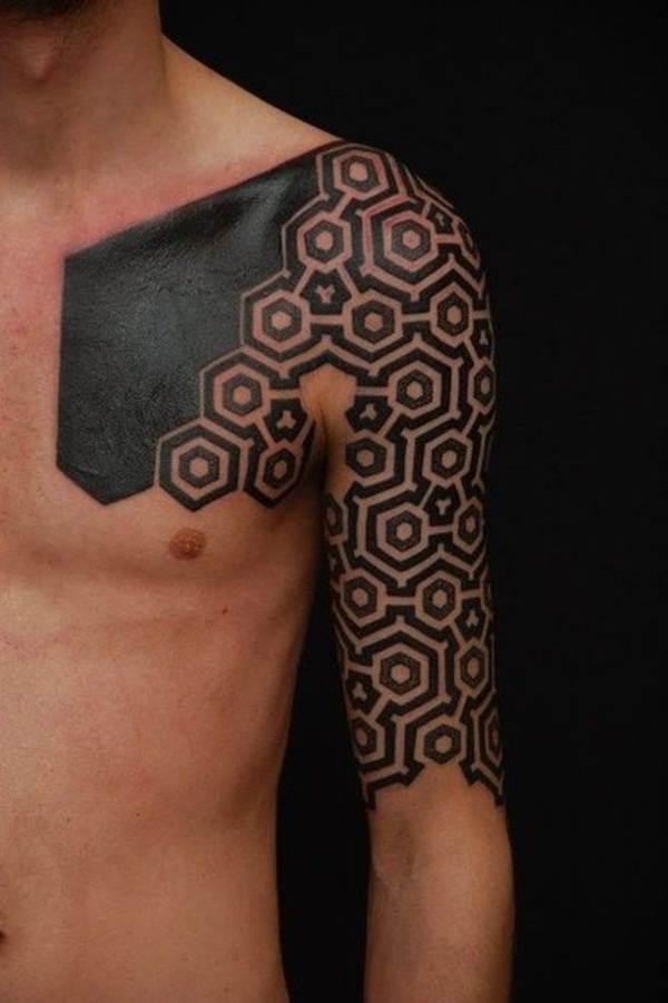 Geometric tattoo designs and ideas68