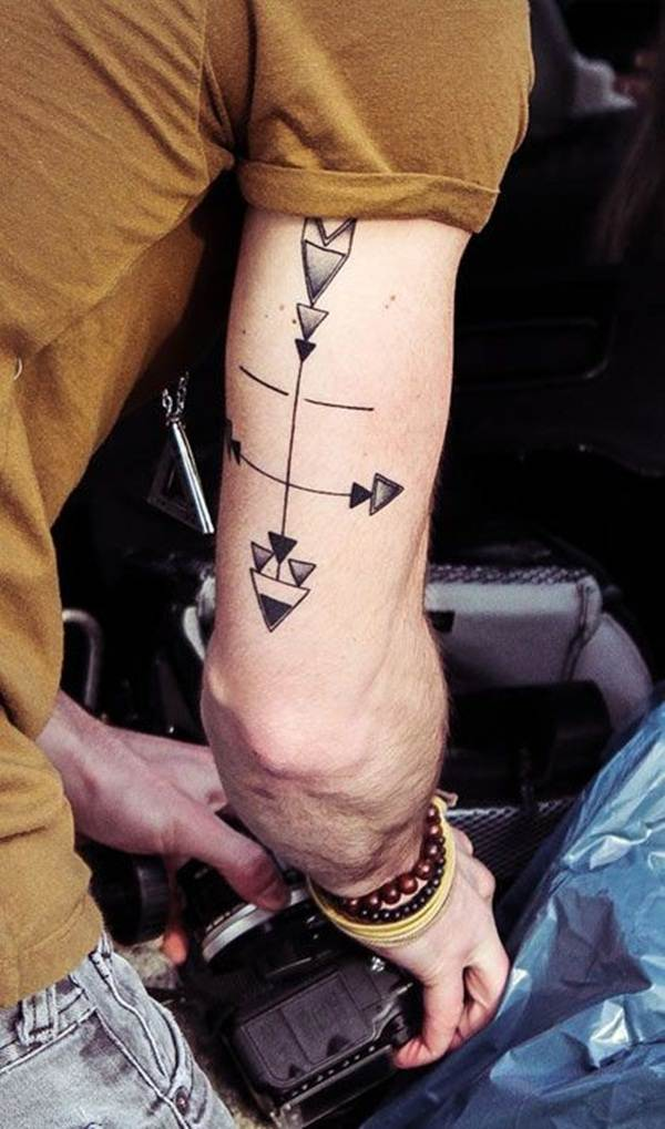 Geometric tattoo designs and ideas69