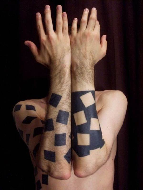 Geometric tattoo designs and ideas71