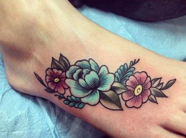 foot tattoo designs