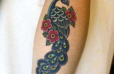 Pretty Peacock Tattoos