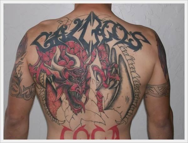 Mythological Tattoo Designs.14
