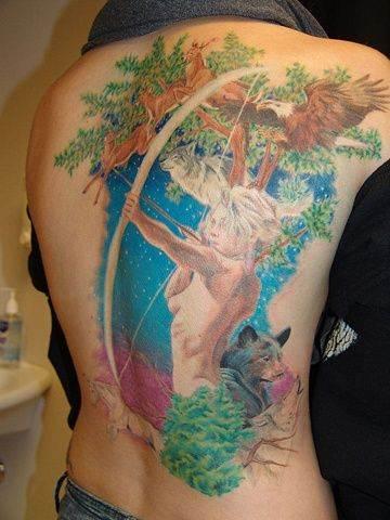 Mythological Tattoo Designs.19
