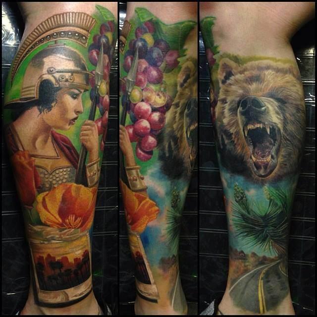 Mythological Tattoo Designs.21