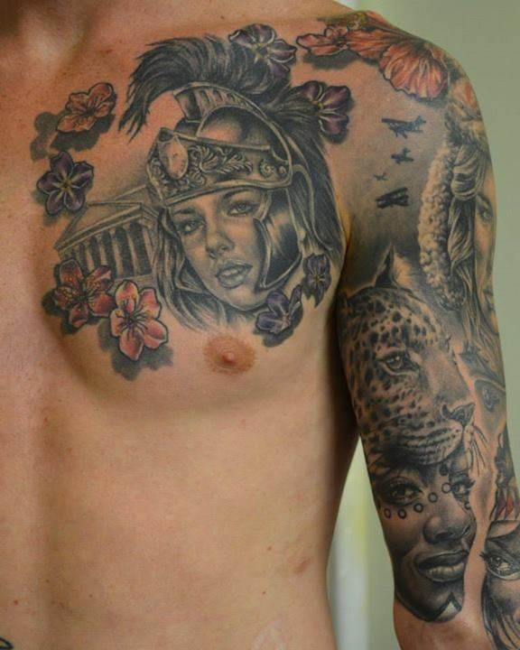 Mythological Tattoo Designs.24